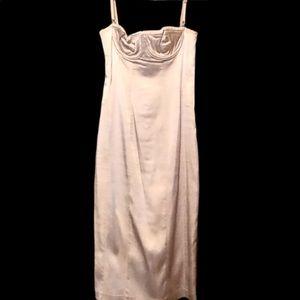 HOT DOLCE & GABBANA STRETCH SATIN DRESS!